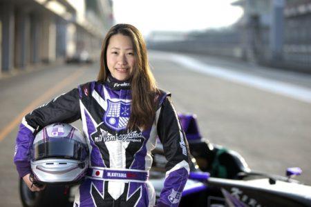 KYOJO CUP2連覇を成し遂げだ競争女子チャンピオンの小山美姫が、Wシリーズに挑戦!