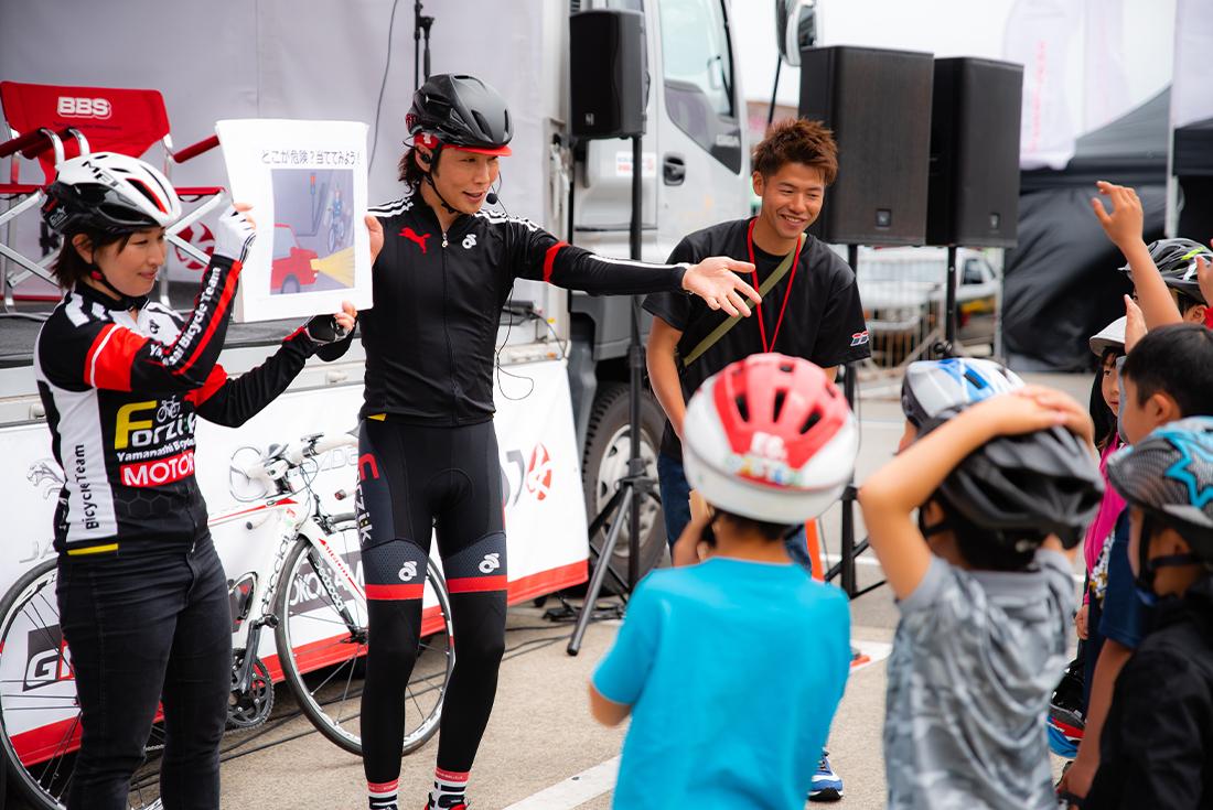 元ロードレーサーの今中大介さん監修の自転車教室 受付開始!先着25名様